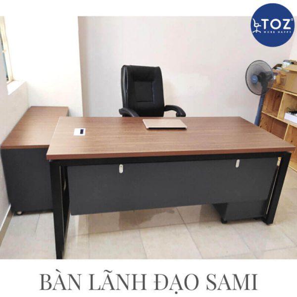 Cần chú ý đến chất liệu bàn giám đốc