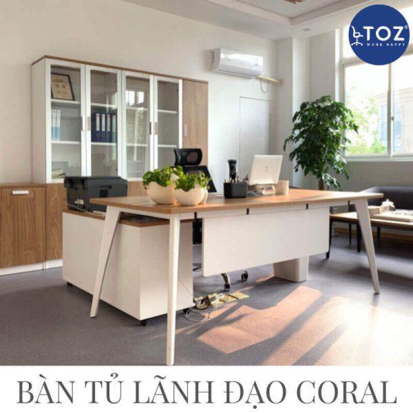 Lựa chọn mua nội thất văn phòng chất lượng tại TOZ Furniture