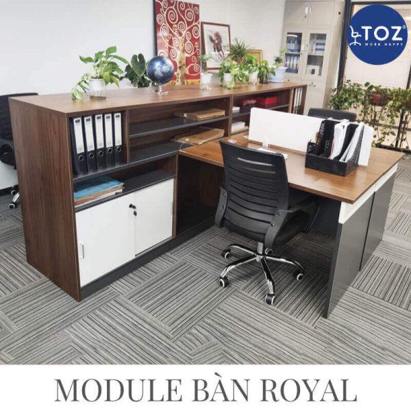 Tuỳ thuộc đặc điểm thiết kế văn phòng để chọn bàn phù hợp nhất
