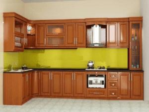 Dựa theo màu sắc để chọn tủ phù hợp không gian bếp