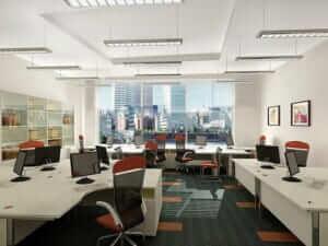Văn phòng mang phong cách hiện đại, lịch lãm