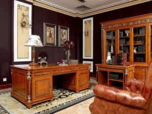 Phòng giám đốc thiết kế theo phong cách tân cổ điển