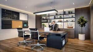 Những lưu ý khi lên thiết kế nội thất phòng giám đốc